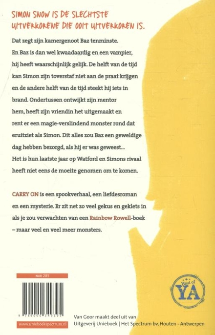 Carry on : de opkomst en ondergang van Simon Snow