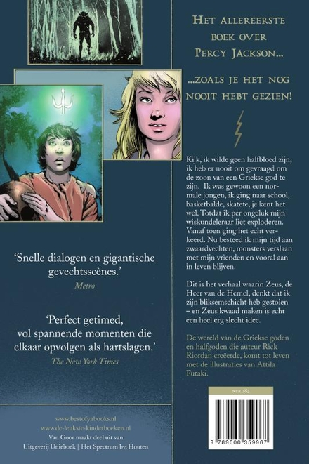 De bliksemdief : graphic novel