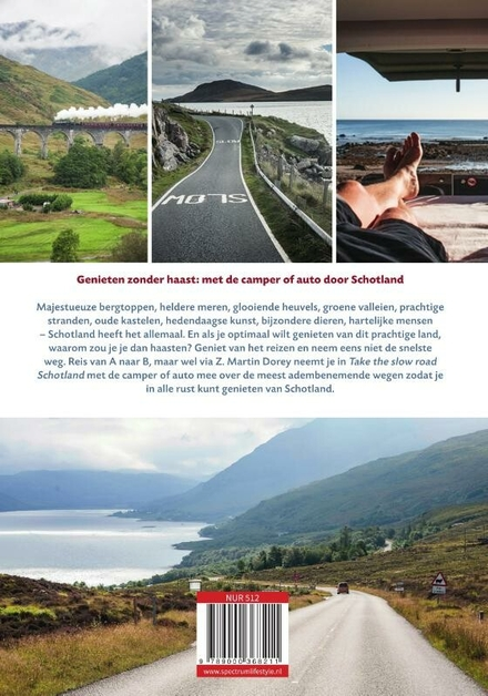 Schotland : inspirerende reisroutes door heel Schotland met de camper of auto