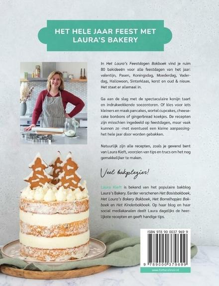 Het Laura's bakery feestdagen bakboek : meer dan 80 makkelijke en feestelijke recepten