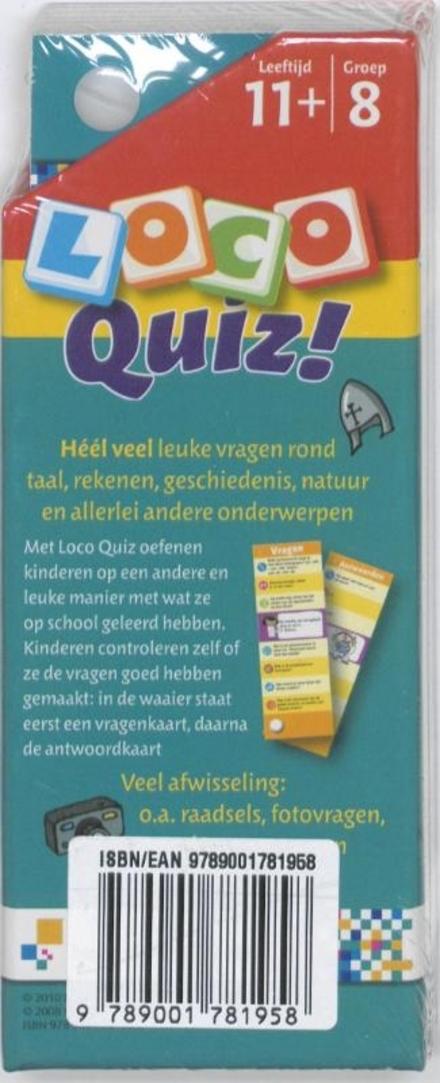 Loco Quiz!. héél veel leuke vragen voor onderweg