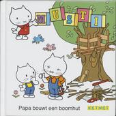 Papa bouwt een boomhut