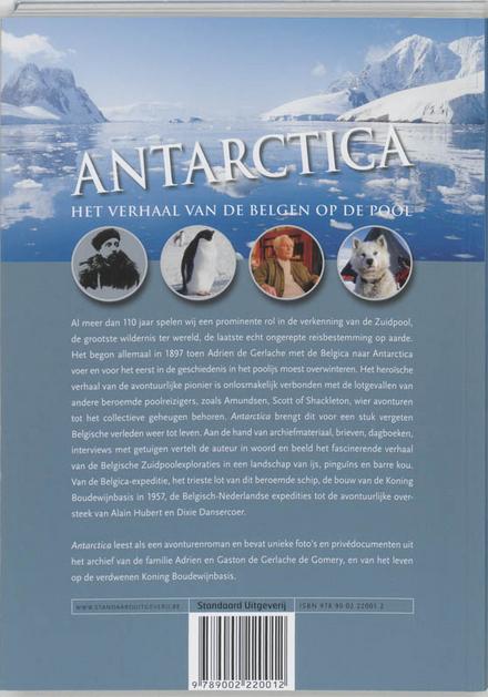 Antarctica : het verhaal van de Belgen op de pool