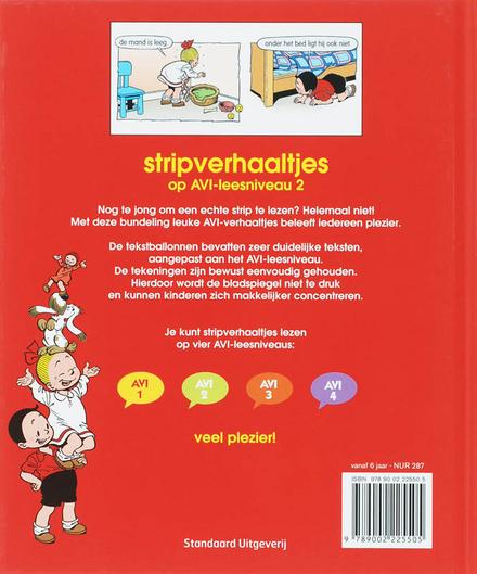 Stripverhaaltjes op AVI-leesniveau 2