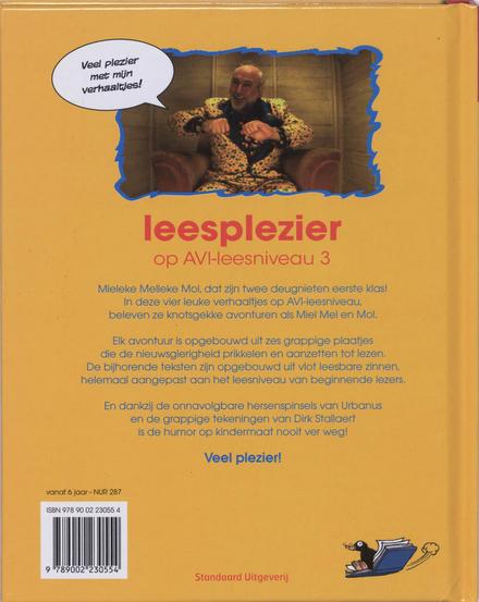 Mieleke Melleke Mol : leesplezier op AVI-leesniveau 3
