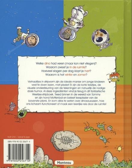 Het weetjes stripboek voor jonge lezers
