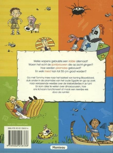 Het leuke weetjes stripboek voor jonge lezers