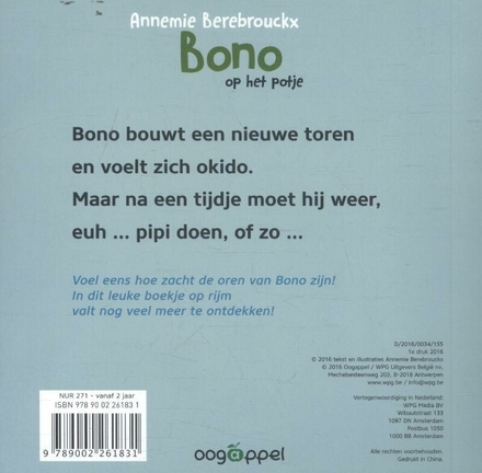 Bono op het potje