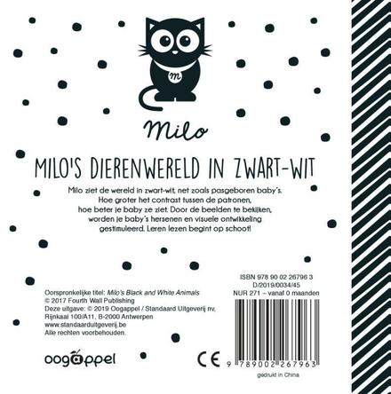 Milo's dierenwereld in zwart-wit