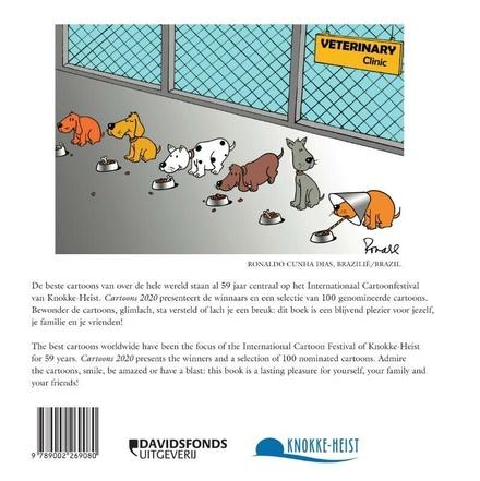 Cartoons 2020 : beste cartoons wereldwijd geselecteerd door Cartoonfestival Knokke-Heist
