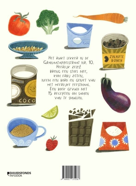 Een huis vol lekkers : 15 recepten om samen van te smullen
