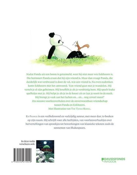 Een vriend, wat is dat? : nieuwe verhalen van Panda & Eekhoorn