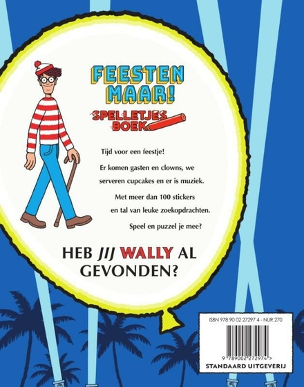 Waar is Wally? Feesten maar!