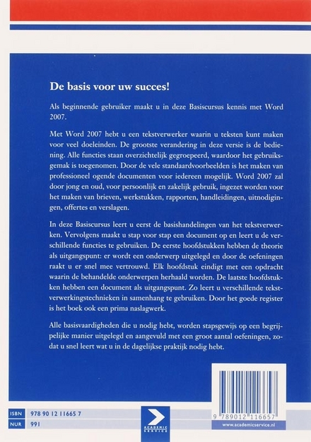 Basiscursus Word 2007