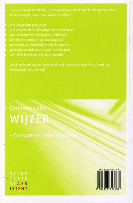 Europees telefoneren : zakelijk telefoneren in de talen : Engels, Duits, Frans, Spaans en Italiaans