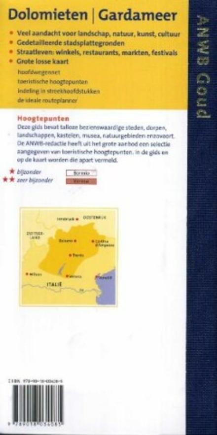 Dolomieten, Gardameer