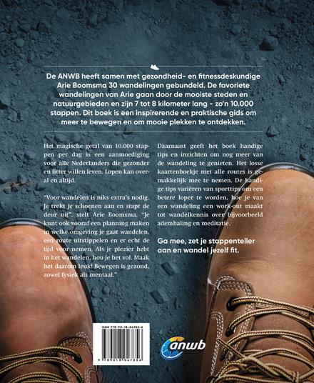 10.000 stappen boek : 30 mooie routes van 7 tot 8 km in stad en natuur
