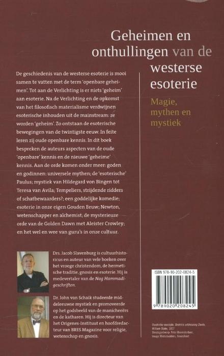Geheimen en onthullingen van de westerse esoterie : magie, mythen en mystiek