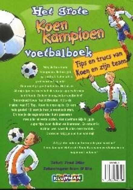 Het grote Koen Kampioen voetbalboek