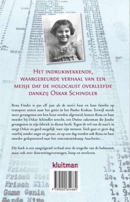 Een meisje op Schindler's list : het waargebeurde verhaal van Rena Finder