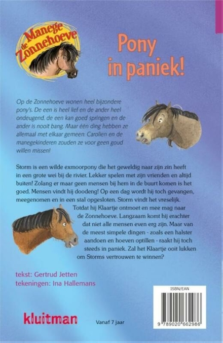 Pony in paniek!