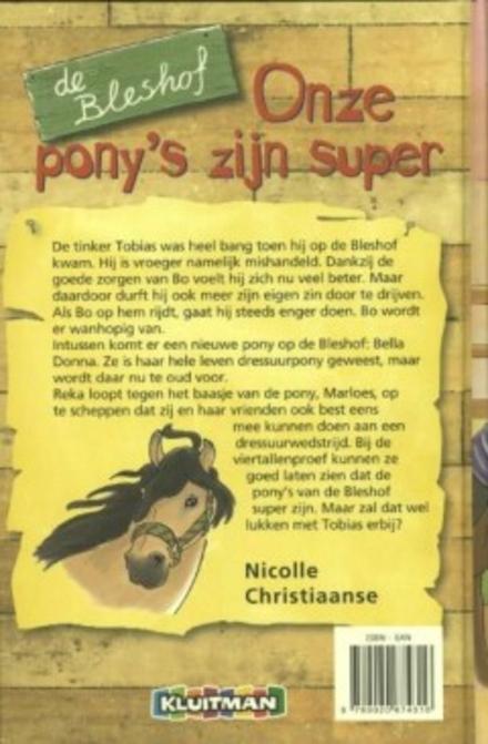 Onze pony's zijn super