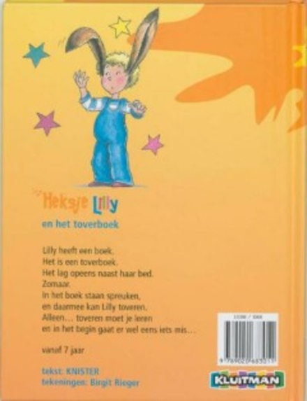 Heksje Lilly en het toverboek