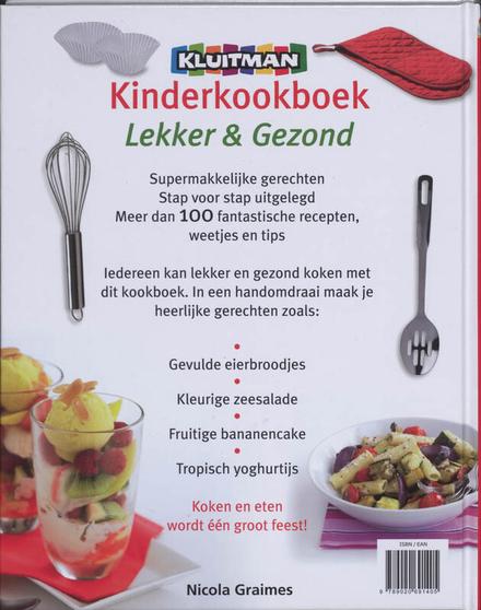 Kluitman kinderkookboek : lekker & gezond