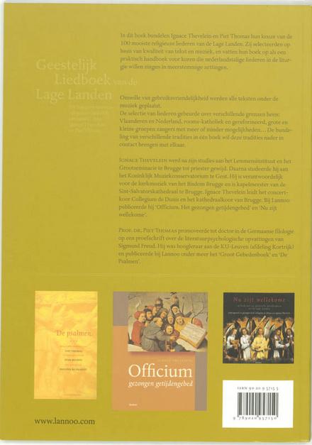 Geestelijk liedboek van de Lage Landen : de honderd mooiste religieuze liederen