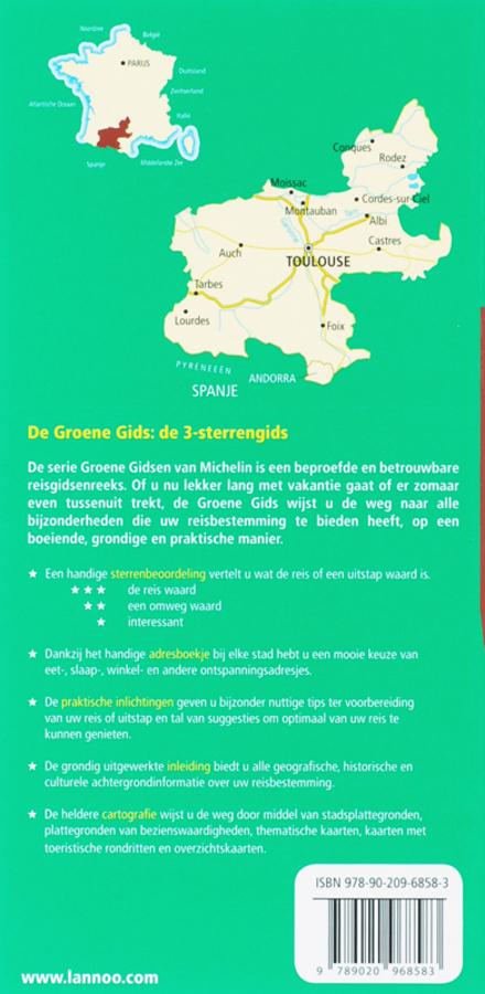 Zuidwest-Frankrijk : Toulouse, Lourdes, Andorra, Pyreneeën