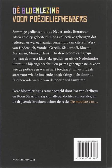 160 gedichten om uit het hoofd te kennen : van Heer Halewijn tot Hugo Claus