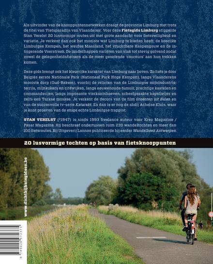 Fietsgids Limburg : 20 lusvormige tochten op basis van fietsknooppunten
