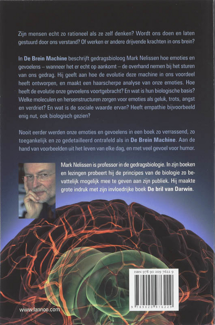 De brein machine : de biologische wortels van emoties en gevoelens : een darwinistische kijk