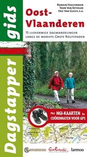 Oost-Vlaanderen : 15 lusvormige dagwandelingen over de mooiste grote routepaden : met NGI-kaarten en GPS-coördinat...