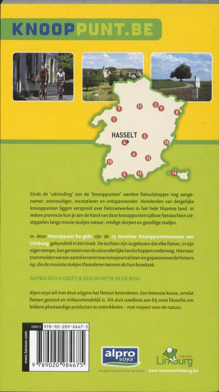 Limburg : de 15 mooiste knooppuntenroutes