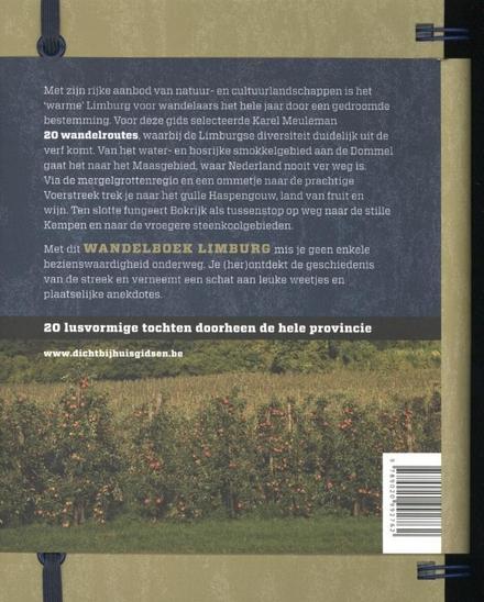 Wandelboek Limburg : 20 lusvormige tochten doorheen de hele provincie