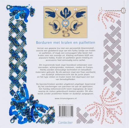 Borduren met kralen en pailletten : 150 patronen voor kleding en accessoires