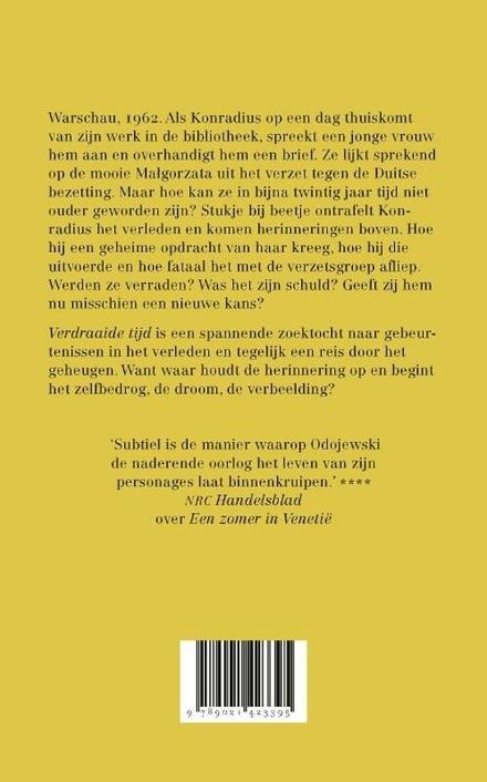 Verdraaide tijd : roman