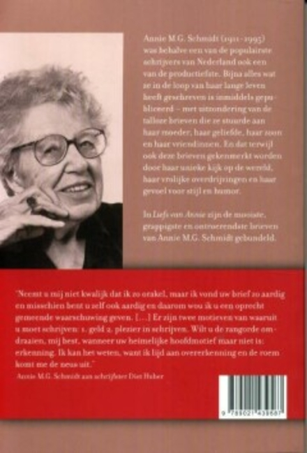 Liefs van Annie : de mooiste brieven van Annie M.G. Schmidt