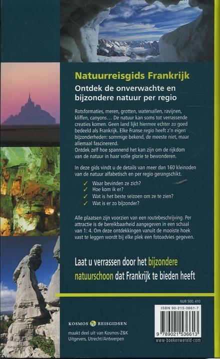 Natuurreisgids Frankrijk : ontdek de onverwachte en meest bijzondere natuur per regio