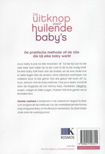 De Karp-methode : de praktische manier om alle (huil)baby's stil te krijgen