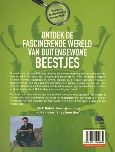 Buitenbeestjes : ontdek de wereld van insecten, spinnen, wormen en slakken