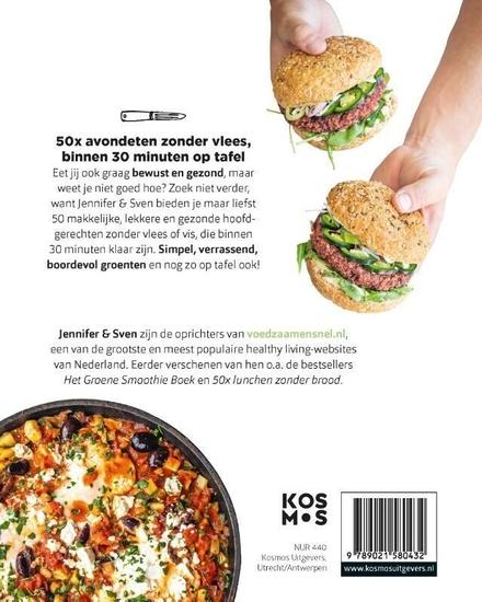 50x avondeten zonder vlees : klaar in 30 min
