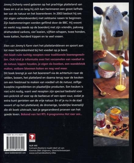 Eten van Jimmy's farm : biologische gerechten van een moderne boer
