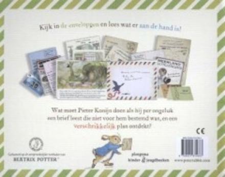Postbode Pieter : een spannend verhaal met echte brieven