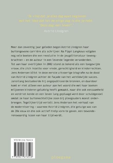 Deze dag, een leven : de biografie van Astrid Lindgren