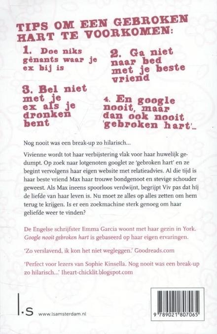 Google nooit gebroken hart