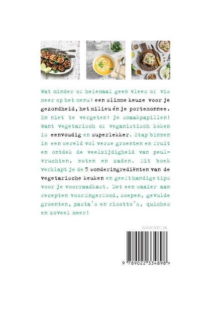 De groene keuken : veggie en vegan recepten voor elke dag