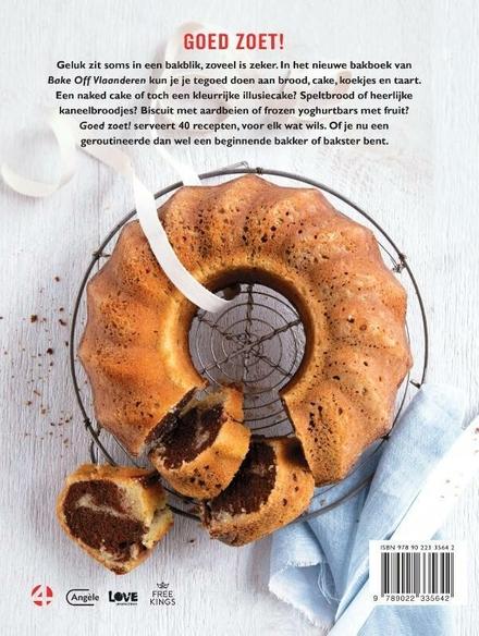 Bake Off Vlaanderen : goed zoet!