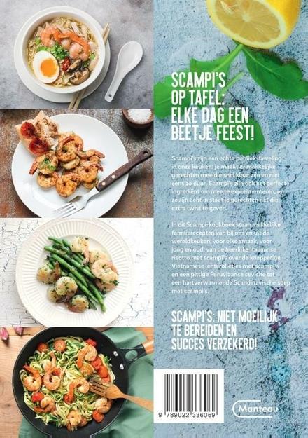 Scampi : makkelijke recepten van bij ons en uit de wereldkeuken